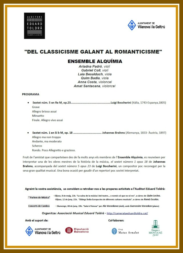 Programa de mà Ensemble Alquimia Abril 2014 (marc)