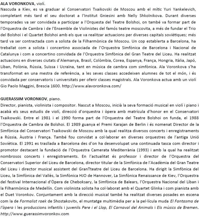 CV ALA VORONKOVA I GUERÀSSIM VORONKOV