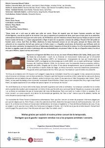CARA B - PROGRAMA MÀ - CATALUNYA&AMÈRICA