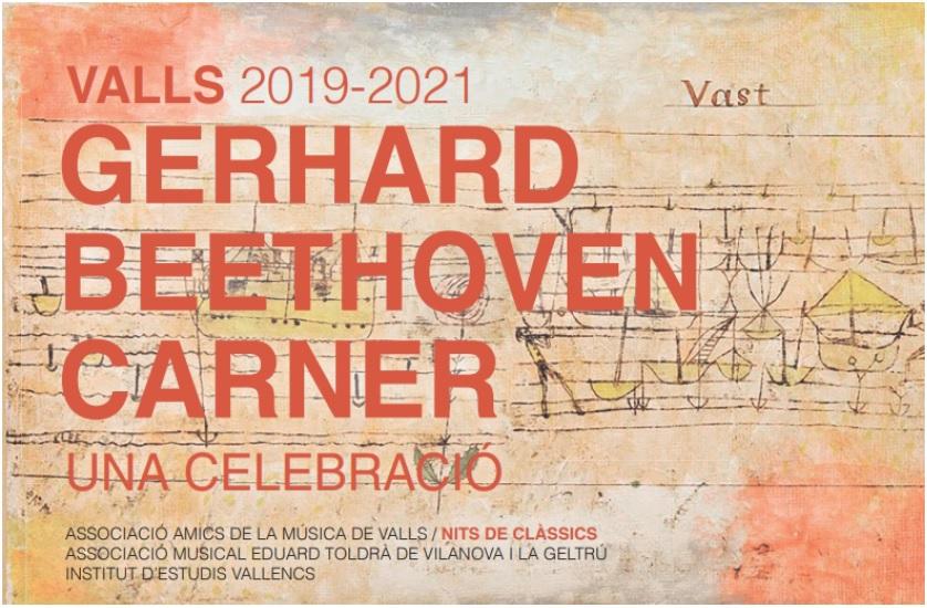Cicle 'Gerhard Beethoven Carner. Una celebració'
